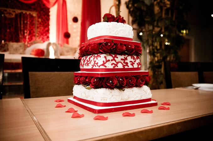 Modern wedding cakes for the holiday Asian wedding cakes yorkshire